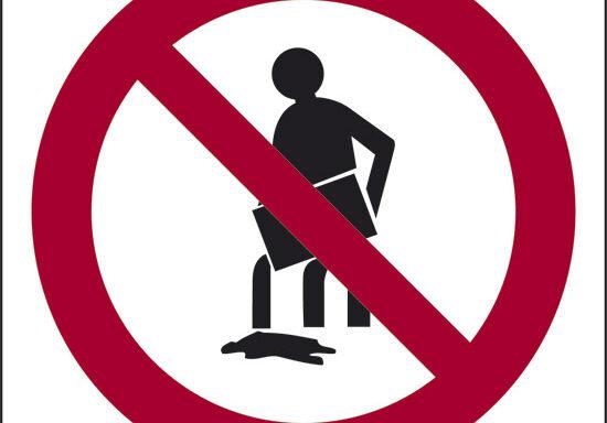 (non inquinare vietato versare solventi, vernici, oli, grassi, ecc.)