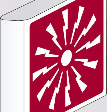 (allarme antincendio) a bandiera