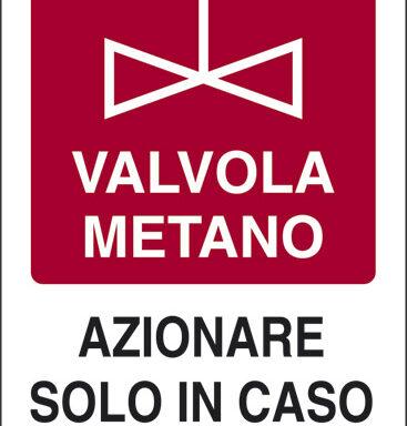 VALVOLA METANO AZIONARE SOLO IN CASO DI INCENDIO