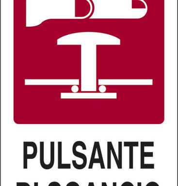PULSANTE DI SGANCIO