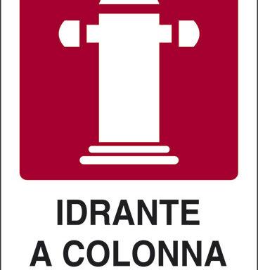 IDRANTE A COLONNA SOPRASUOLO