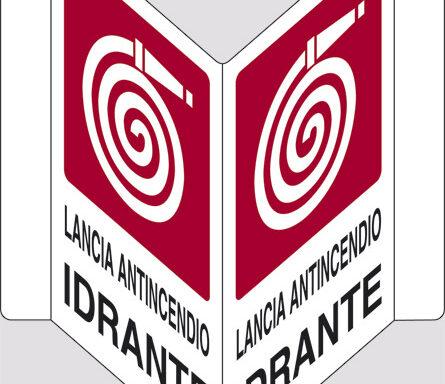 "LANCIA ANTINCENDIO IDRANTE  ""V"""