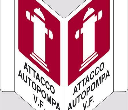 "ATTACCO AUTOPOMPA V.F. ""V"""