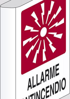 ALLARME ANTINCENDIO  a bandiera