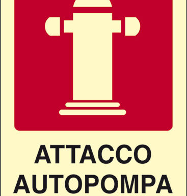ATTACCO AUTOPOMPA V.F. luminescente