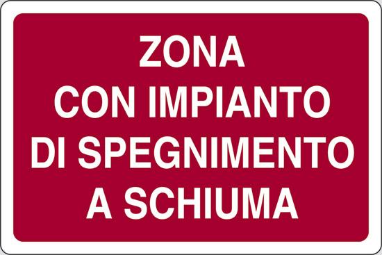 ZONA CON IMPIANTO DI SPEGNIMENTO A SCHIUMA