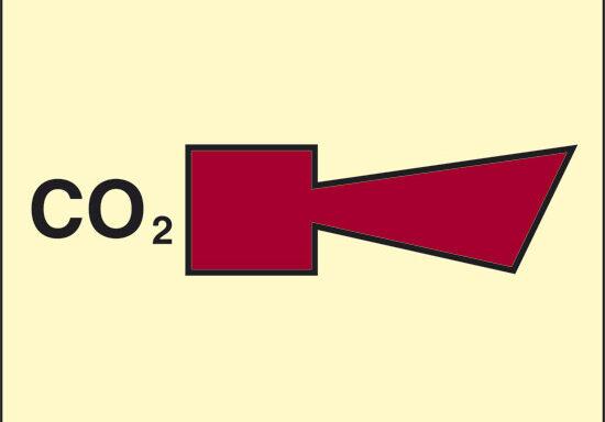 CO2 (sirena CO2) luminescente