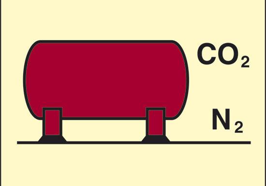 (installazione CO2/azoto) luminescente