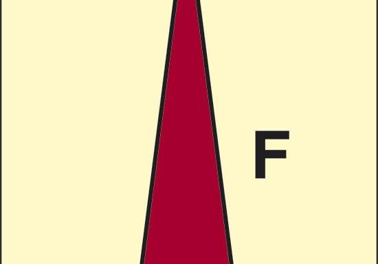 F (lancia per schiuma) luminescente