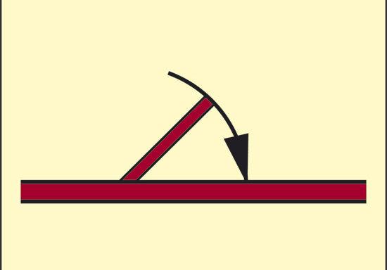 (porta antincendio a chiusura automatica classe A) luminescente