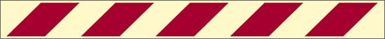 rossa (identificazione attrezzature antincendio – con antiscivolo) luminescente
