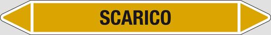 SCARICO (gas allo stato gassoso o liquefatto escluso l'aria)