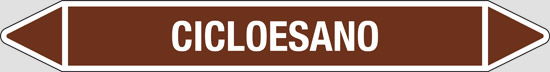 CICLOESANO (oli minerali, oli vegetali e oli animali, liquidi combustibili e/o infiammabili)