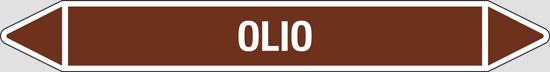 OLIO (oli minerali, oli vegetali e oli animali, liquidi combustibili e/o infiammabili)