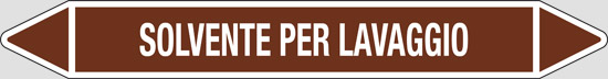 SOLVENTE PER LAVAGGIO (oli minerali, oli vegetali e oli animali, liquidi combustibili e/o infiammabili)