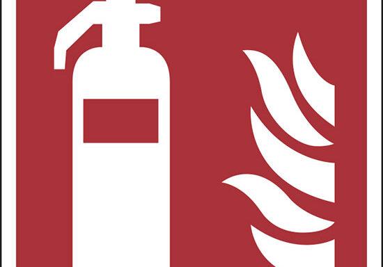 (estintore – fire extinguisher)