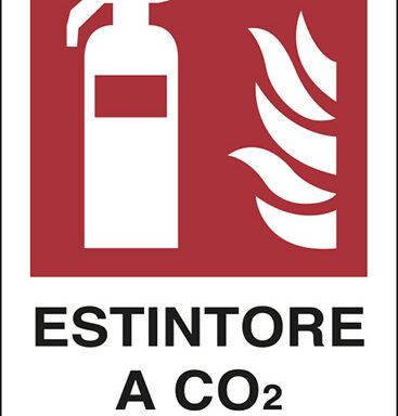 ESTINTORE A CO2 N°