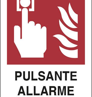 PULSANTE ALLARME ANTINCENDIO