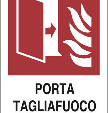 PORTA TAGLIAFUOCO TENERE CHIUSA