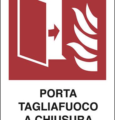 PORTA TAGLIAFUOCO A CHIUSURA AUTOMATICA