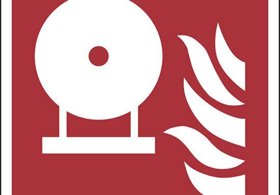 (bombola fissa antincendio – fixed fire extinguishing bottle)