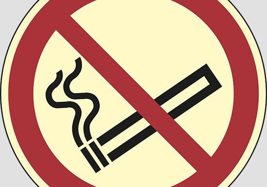(vietato fumare – no smoking)