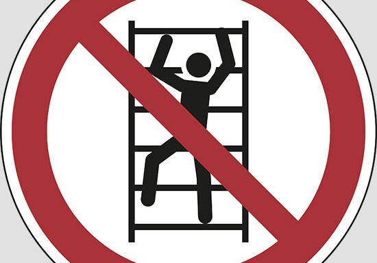 (no climbing)