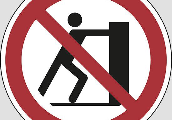 (no pushing)