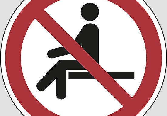 (no sitting)