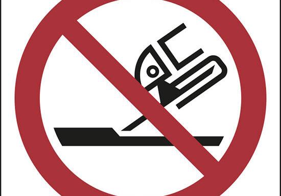 (vietato usare il disco per lisciare le superfici – do not use for face grinding)