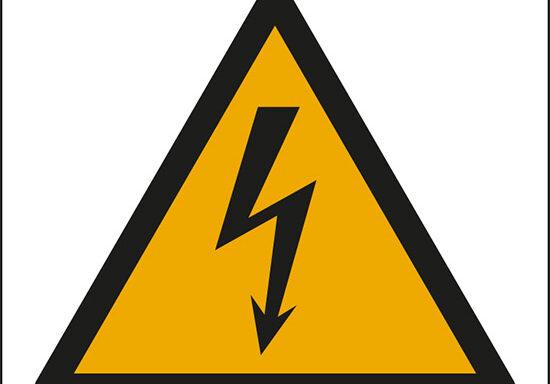 (pericolo elettricità – warning: electricity)