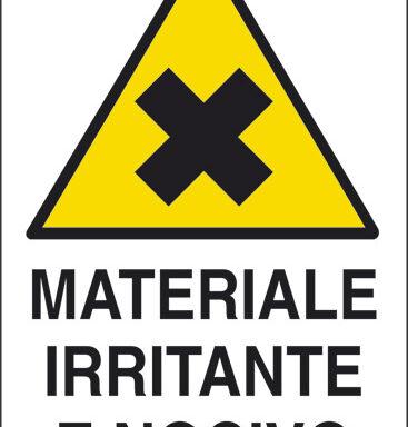 MATERIALE IRRITANTE E NOCIVO