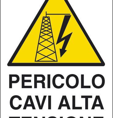 PERICOLO CAVI ALTA TENSIONE