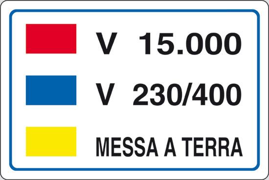 V 15.000 V 230/400 MESSA A TERRA