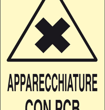APPARECCHIATURE CON PCB luminescente