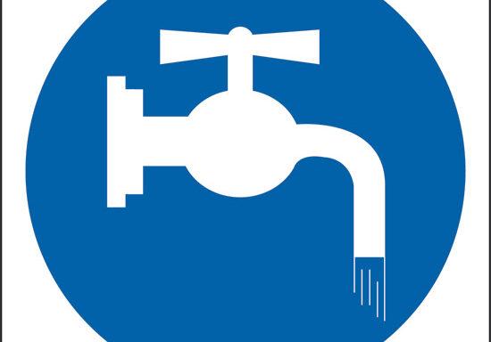 (chiudere il rubinetto)