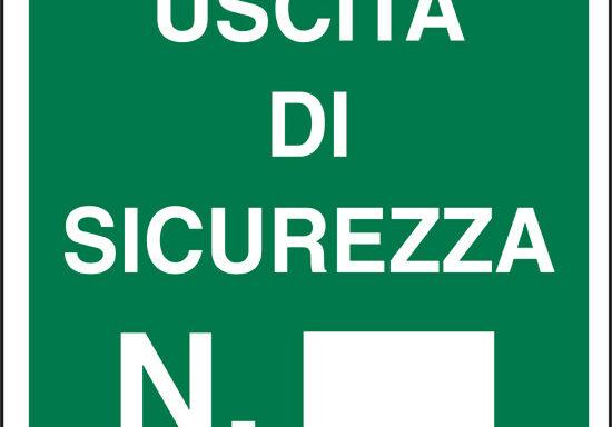 USCITA DI SICUREZZA N.