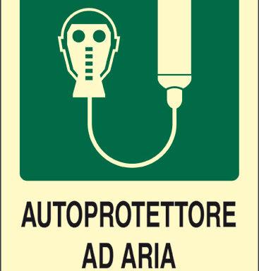 AUTOPROTETTORE AD ARIA COMPRESSA luminescente