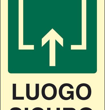 LUOGO SICURO luminescente