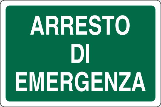 ARRESTO DI EMERGENZA