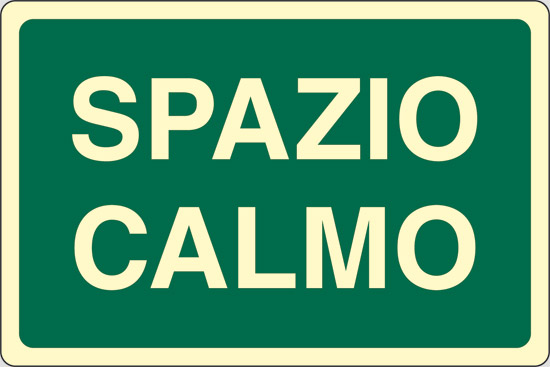 SPAZIO CALMO luminescente