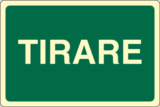 TIRARE  luminescente