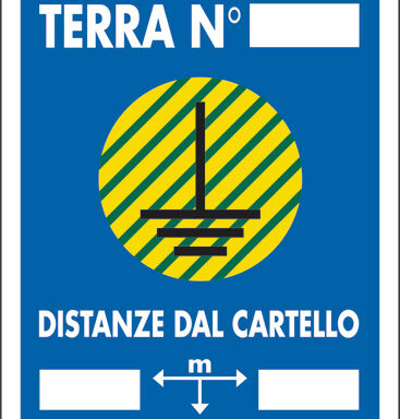 DISPERSORE DI TERRA N __DISTANZE DAL CARTELLO M