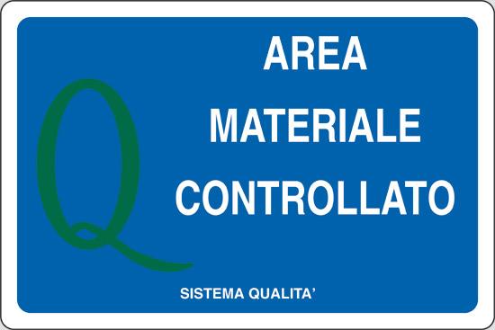 AREA MATERIALE CONTROLLATO