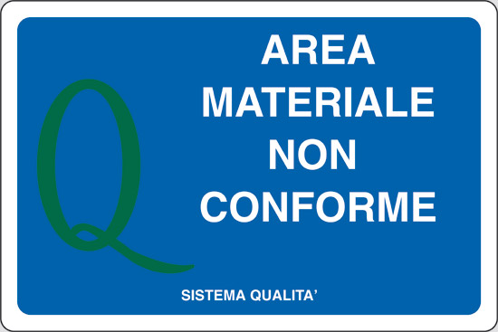 AREA MATERIALE NON CONFORME