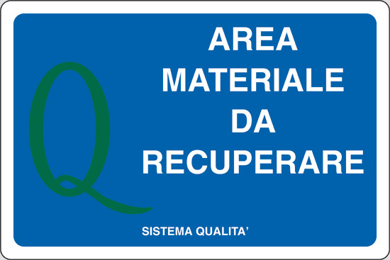 AREA MATERIALE DA RECUPERARE