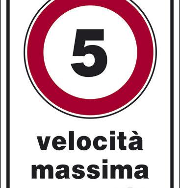 5 velocita' massima consentita