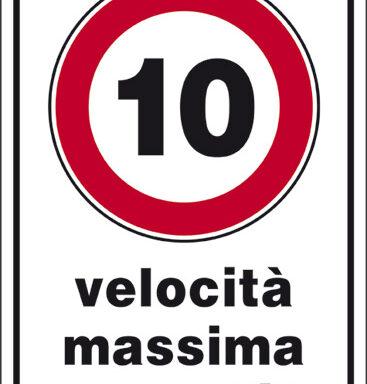 10 velocita' massima consentita