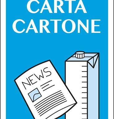 raccolta differenziata CARTA CARTONE