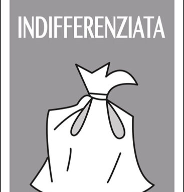 raccolta differenziata INDIFFERENZIATA